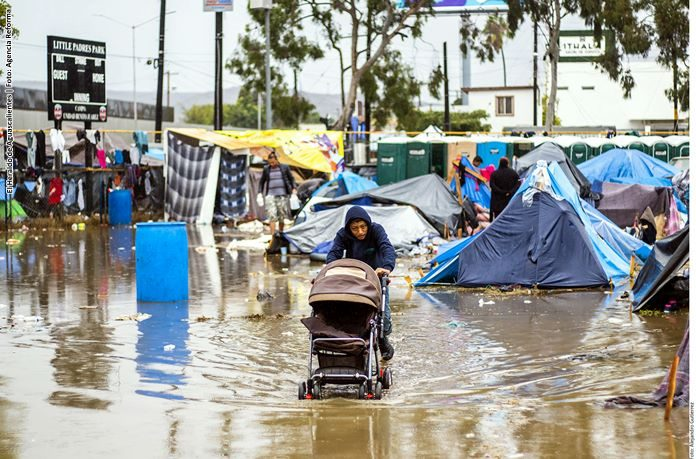 Habilitan segundo albergue para migrantes en Tijuana