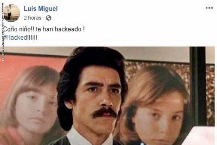 Hackean Facebook de Luis Miguel y se burlan de él