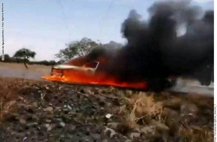 Celaya: Reportan bloqueos en la autopista Querétaro